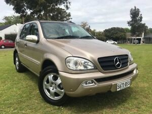 2005 Mercedes-Benz ML350 W163 MY04 Luxury Gold 5 Speed Sports Automatic Wagon Somerton Park Holdfast Bay Preview