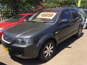 2008 Ford Territory SY SR (4x4) Grey 6 Speed Auto Seq Sportshift Wagon Campbelltown Campbelltown Area Preview