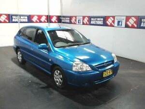 2003 Kia Rio BC Blue 4 Speed Automatic Hatchback Cardiff Lake Macquarie Area Preview