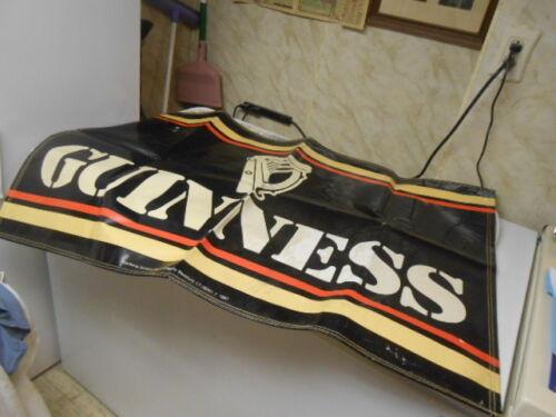 Vtg. 1987 Promotional Guinness Beer Banner
