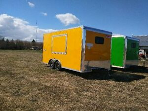 BRAND NEW 8.5X16 FOOD CONCESSION TRAILERS FOR SALE