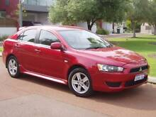 2009 Mitsubishi Lancer VR excellent condition 5 speed manual Burswood Victoria Park Area Preview