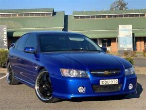 2005 Holden Commodore VZ SS Z Blue 4 Speed Automatic Sedan Mount Druitt Blacktown Area Preview