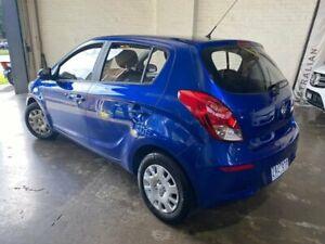 2012 Hyundai i20 PB Active Blue Automatic South Melbourne Port Phillip Preview