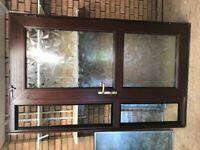 PVC Front Door & Side Panel