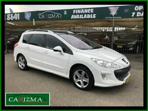 2009 Peugeot 308 Touring XSE Turbo White 4 Speed Automatic Wagon Seven Hills Blacktown Area Preview
