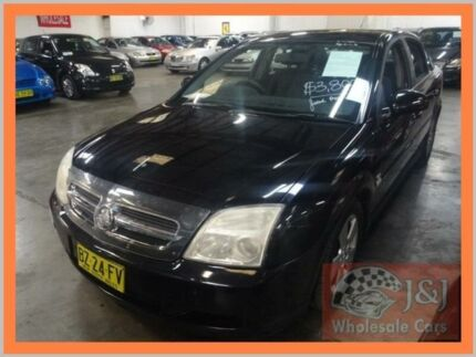 2005 Holden Vectra ZC MY05 Upgrade CD Black 5 Speed Automatic Sedan Warwick Farm Liverpool Area Preview