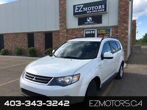 2009 Mitsubishi Outlander XLS=7 SEATER=4X4=FACTORY WARRANTY