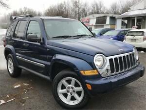 2005 JEEP LIBERTY LIMITED 4X4 V6 3,7L + MAGS + 4WD + TRAIL RATED
