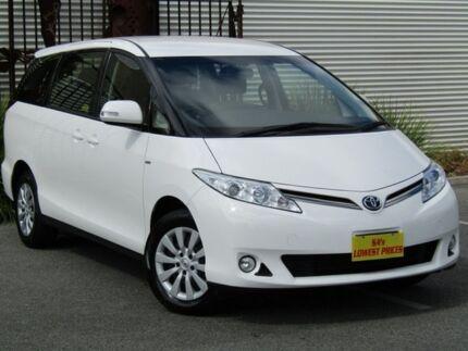 2013 Toyota Tarago ACR50R MY13 GLi White 7 Speed Constant Variable Wagon Melrose Park Mitcham Area Preview