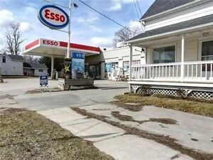 Esso Gas Station and house for sale