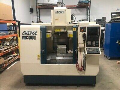 Hardinge Vmc-600 Ii Cnc Mill