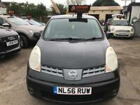 2007 Nissan Note 1.6 16v SVE 5dr AUTOMATIC, WARRANTY+BREAKDOWN COVER