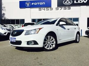 2012 Holden Cruze JH MY12 CDX White 6 Speed Automatic Sedan Beckenham Gosnells Area Preview