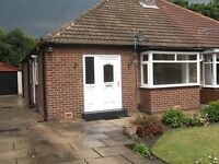 Spacious Bungalow for Rent in the popular residential area of Farsley.