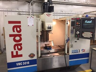 Used Fadal Vmc 3016ht Cnc Vertical Mill 2001 30.16.20 10000 Rpm Haas Vf-2