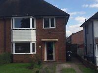 Huge 3 bedroom 2 reception semi detached house for rent in Erdington! £830 a month NO DSS!!