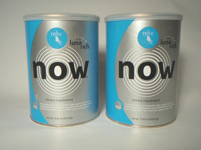 Reliv NOW Two cans No Reserve
