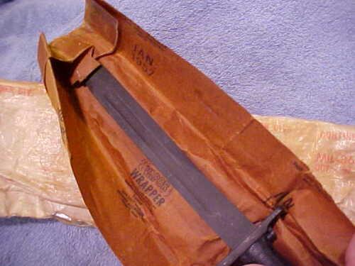 "M1 Garand UC Bayonet Spear point 10"" M-1 Arsenal Wrap UNCut Utica Cut WW2 US Ctt"