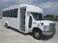 FORD E450 - Goshen 24 Pass w/rear door