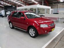 2007 Ford Territory SY Ghia Red 4 Speed Sports Automatic Wagon Maryville Newcastle Area Preview