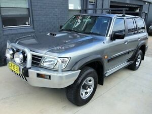 2002 Nissan Patrol GU III ST (4x4) Silver 5 Speed Manual Wagon Mortdale Hurstville Area Preview