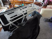 MASSLOAD CYCLE PANNIERS AND RACK