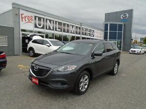 2014 Mazda CX-9 **SUNROOF AND LEATHER, ALLOYS, LOADED!!** GS-L