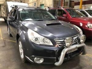 2009 Subaru Outback B5A MY10 2.0D Premium Grey Manual Wagon Hamilton North Newcastle Area Preview