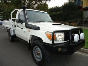 2007 Toyota Landcruiser VDJ79R Workmate 5 Speed Manual 4x4 Utility Chermside Brisbane North East Preview