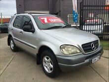 2001 Mercedes-Benz ML W163 320 Luxury (4x4) 5 Speed Auto Tipshift Wagon Brooklyn Brimbank Area Preview