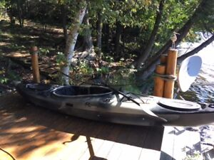Riot Fishing Kayak and Paddle - $1200 (purchased for $1500)