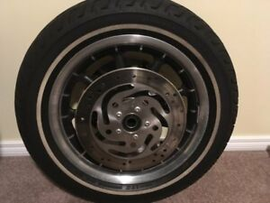 2007 Harley Ultra Front Rim with Rotors