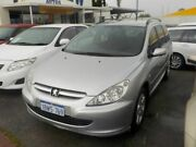 2004 Peugeot 307 T5 MY04 XS HDI Silver 5 Speed Manual Hatchback Victoria Park Victoria Park Area Preview