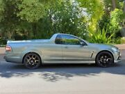 2014 Holden Ute VF MY14 SV6 Ute Storm Grey Green 6 Speed Sports Automatic Utility Prospect Prospect Area Preview