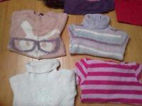 bundle of 25 quality girls winter clothes coat rain coat skirts age 6-8