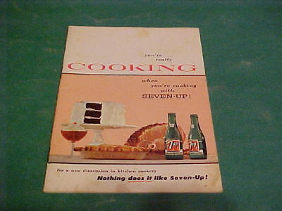 1957 7-UP RECIPE BOOK YOU'RE REALLY COOKING
