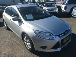 2012 Ford Focus LW MkII Ambiente Silver Sports Automatic Dual Clutch Hatchback Lansvale Liverpool Area Preview