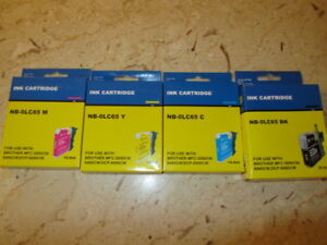 BROTHER PRINTER INK - BLK, CY, M, Y . DEAL . DEAL. DEAL.