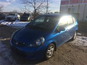 2007 HONDA FIT LX - LOW KM - 4CYLINDER - AUTOMATIC - CLEAN CAR