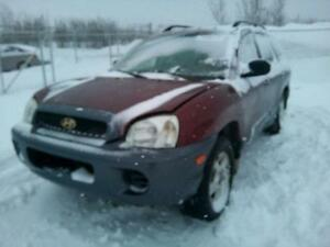 parting out 2003 Hyundai santa fe