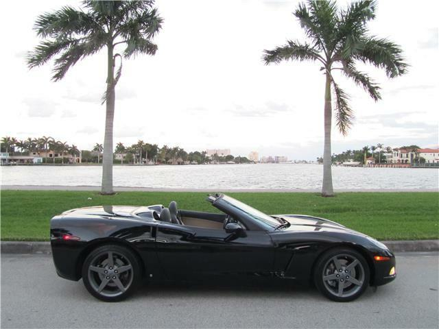 2007 Black Chevrolet Corvette   | C6 Corvette Photo 1