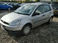 Chea Ford Fiesta 1.4l, low millage, cheap five seater car