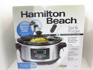 HAMILTON BEECH DELUXE SET & FORGET 6 QUART SLOW COOKER - NEW!