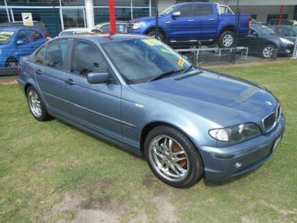 2003 BMW 318I E46 MY2003 Executive Steptronic Grey 5 Speed Sports Automatic Sedan Kippa-ring Redcliffe Area Preview