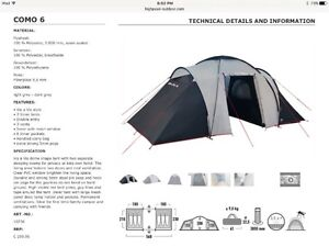 High Peak 6 People Tent