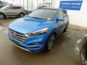 2017 Hyundai Tucson TURBO, LEATHER, SUNROOF, AWD