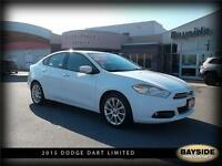 2015 Dodge Dart Limited LEATHER AND NAVIGATION!