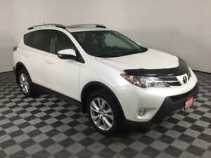 2015 Toyota RAV4 LIMITED/LEATHER/BACK UP CAMERA/AWD/SUNROOF