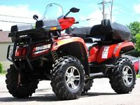 2012 Arctic Cat TRV 700 EPS * SUPERBE /  IMPECCABLE! *